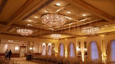 Custom Crystal Raindrop Ceiling Decor
