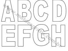 Confira vários moldes de letras minúsculas para trabalhos com Patchwork, EVA e muito mais. Aproveite cada molde em tamanho grande e crie belos itens e projetos de decoração.