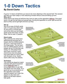 Check Out This Article On Footy That Offers Many Great Tips. If you want to improve your footy game, the tips below are a great way to start. You need practice and passion to be good at football. Football Coaching Drills, Soccer Drills, Soccer Tips, Soccer Stuff, Football Stuff, Youth Soccer, Football Soccer, Football Motivation, Soccer Practice