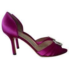 MANOLO BLAHNIK Pink Heels