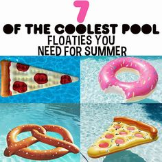 7 of the Coolest Pool-floatables You Need! by Kandee Johnson #BEAUTY