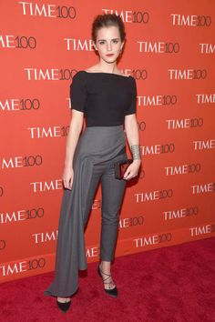 Emma Watson's Dior pants. See 6 other celebrities whose spring outfits killed it.