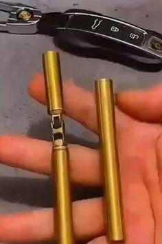 Double Stick Brass Gasoline Lighter