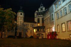 Blick in den Innenhof des Gifhorner Schlosses