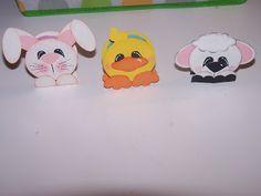 Easter Peppermint Patties Punch Art Treats.