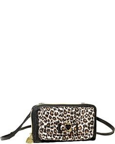 BE MY HONEY BUNS WALLET ON A STRING LEOPARD accessories slg wallets fashion