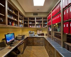 Home Office - contemporary - home office - phoenix - Arizona Designs Kitchens and Baths