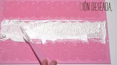 Sugar Lace Icing is a type of lace effect icing decoration, originating in power form, mixed with boiling water and applied to moulds before peeling off and decorating… Cake Decorating Frosting, Cake Decorating Tutorials, Edible Lace, Sugar Lace, Types Of Lace, Painted Cakes, Christmas Cookies, Icing, Cake Recipes