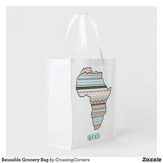 Reusable Grocery Bag Reusable Grocery Bags, Save The Planet, Business Supplies, Party Hats, Purses, Fabric, Handbags, Tejido, Tela