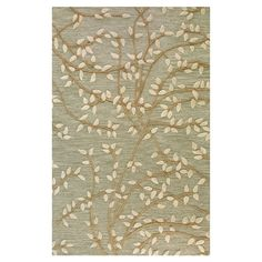 Saplings Rug in Light Green - Pick Your Path on Joss & Main