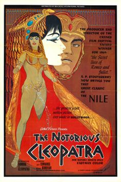The Notorious Cleopatra (1970) Stars: Loray White, Johnny Rocco, Jay Edwards ~ Director: Peter Perry Jr.