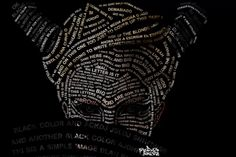 Typography Tutorial - How to create a typographical portrait