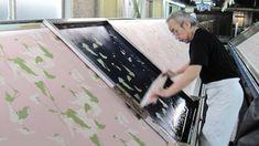 #Japan #screen #printing #serigrafia