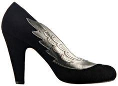 Breathtaking: Minna Parikka Fashion Shoes, Fashion Outfits, Womens Fashion, Stiletto Heels, Peep Toe, Give It To Me, Bronze, Pumps, Silver