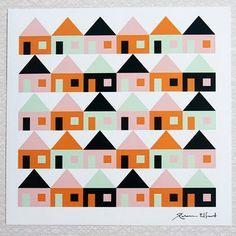print & pattern: WALL ART - rebecca elfast