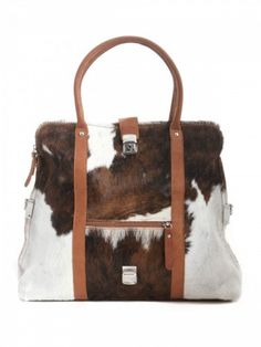 4c458208d77ab The cow fur bag Alma of our Exclusive Line made of 100% natural fur with