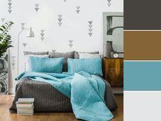 20 paletas de cores para quarto de casal para usar na decoração Home Design Decor, House Design, Home Decor, Double Room, Color Shades, Decoration, Comforters, Master Bedroom, Sweet Home