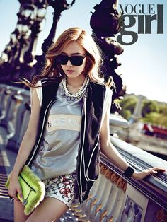 OMONA THEY DIDN'T! Endless charms, endless possibilities ♥ - Uee, Lee Jong Suk, Ha Suk Jin, Jessica, Yoo Seung Woo, BEAST - Vogue Girl (June)
