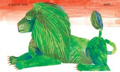 Eric Carle. The Artist Who Painted A Blue Horse