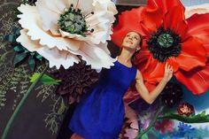 курс по гигантским цветам Кемерово витрина вадьба фотозона украшение ростовыми цветами флористика цветы www.flofra.ru 30
