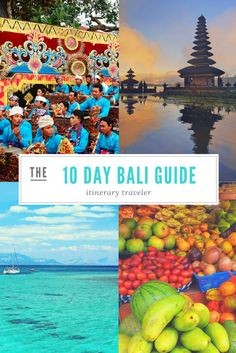 The Ultimate Guide to Bali - What to see, do, eat, go, stay and how to spend your time traveling! Click to read how to spend the best time in Bali.