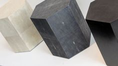 Hexagon Side Table by Robicara