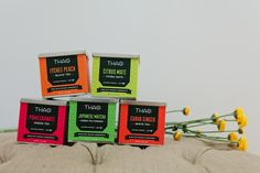 T.H.A.O. Tea Company on Packaging of the World - Creative Package Design Gallery