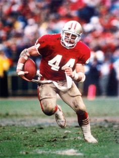 Tom Rathman now the running backs coach for the niners. And your surprised they can run the ball....