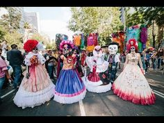Desfile Día de Muertos CDMX 2017/Day of the dead parade Mexico City 2017