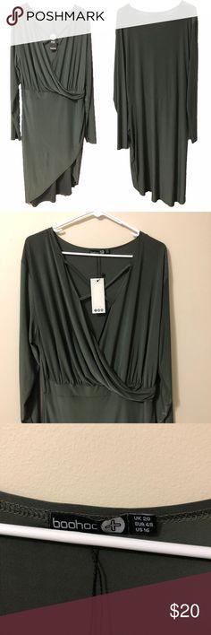 4a268f7c913d NWT Boohoo Plus Lydia dress size 16 NWT Boohoo Plus Lydia dress size 16.  Criss