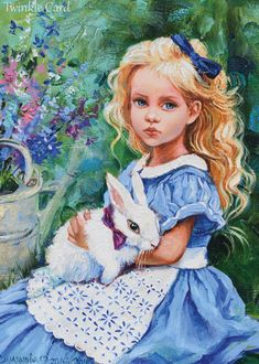"Открытка ""Алиса и белый кролик"", автор Ольга Симонова Character Art, Art Drawings, Drawings, Vintage Artwork, Painting, Illustration Art, Alice In Wonderland Drawings, Beautiful Art, Cartoon Art"