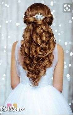 The hairstyle I want for my wedding. I got the photo from HiMissPuff.com, so credit to them!