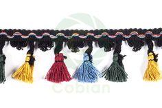fleco borlas multicolor c291
