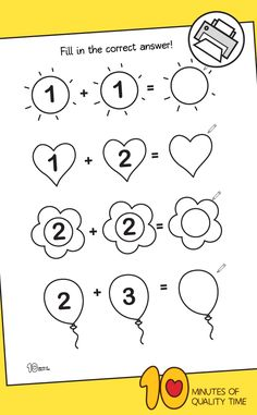 Addition within 5 Writing Worksheet Kindergarten Math Activities, Fun Activities For Kids, Easy Arts And Crafts, Crafts To Do, Math Minutes, Math Lesson Plans, Maths Puzzles, Writing Worksheets, Tot School