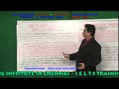 IELTS & TOEFL TRAINING IN CHENNAI -IELTS WRITING &  SPEAKING TASK  VIDEO...