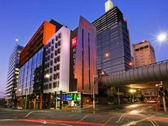 Sydney Ibis Sydney King Street Wharf Hotel Australia, Pacific Ocean and Australia Ibis Sydney King Street Wharf Hotel is conveniently located in the popular Darling Harbour area. The hotel offers guests a range of services and amenities designed to provide comfort and convenience. 24-hour front desk, facilities for disabled guests, luggage storage, Wi-Fi in public areas, car park are just some of the facilities on offer. Comfortable guestrooms ensure a good night's sleep with ...