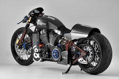 Harley Davidson and Bell & Ross Nascafe Racer Bike