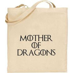 GAME OF THRONES - MOTHER OF DRAGONS KALISI COTTON TOTE SHOPPING BAG