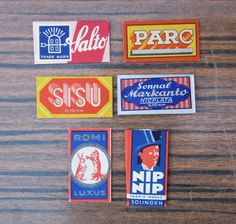 VINTAGE ANTIQUE SOLINGEN GERMANY STEEL SAFETY RAZOR BLADES LOT COLLECTION