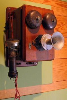 Telefone a partir de final de 1800