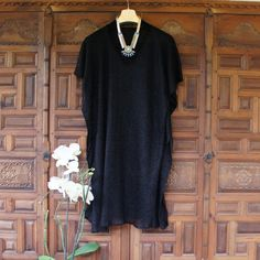 Black Coverup Swim suit Coverup Black Lace Beach by CharmByIA