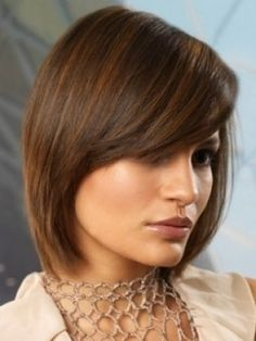 Play with natural texture and dig out the most of your soft and silky tresses. Inject some definition into your strands with a similarly refined silhouette.