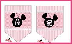 Banderines de Minnie para descargar gratis