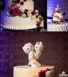 Hello Kitty Wedding Cake Topper Portland Coordinator Photo By Evrim Icoz