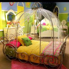 Princess little girl bed! stephwoolery