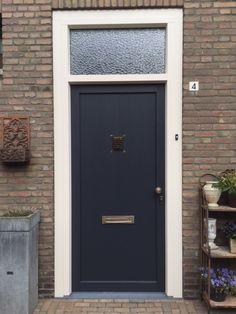 Mooie kunststof voordeur