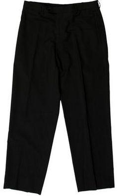 Prada Wool Straight-Leg Pants Mens Dress Pants, Wool Pants, Straight Leg Pants, Prada, Stylish, Tops, Fashion, Moda, Fashion Styles