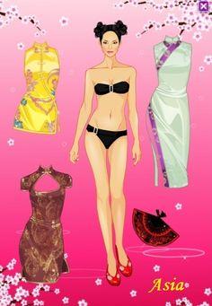 Áóìàæíûå êóêëû îò ôîðóì÷àí* 1500 free paper dolls for small Christmas gits and DIY for Pinterest pals The International Paper Doll Society Arielle Gabriel artist ArtrA Linked In QuanYin5 *