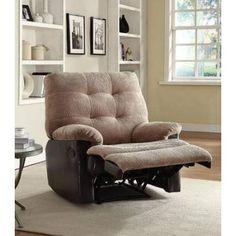 Layce Camel Champion Glider Recliner Chair - 59182
