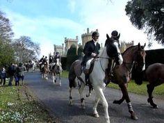 ▶ Belvoir Hunt Closing Meet at Belvoir Castle - YouTube